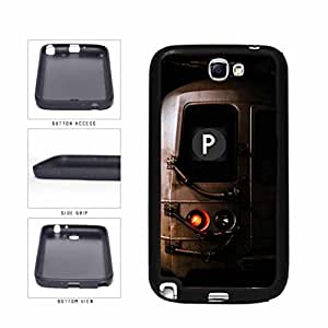 Personalized NYC Train Custom Letter P TPU RUBBER SILICONE Phone Case Back Cover Samsung Galaxy Note II 2 N7100 by supermalls