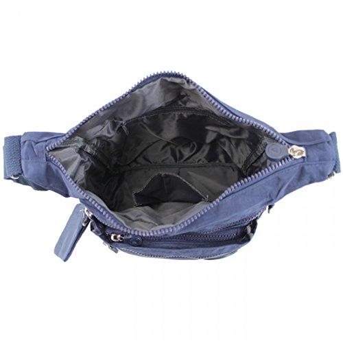 Para Bagstore Azul Mujer Bolso Oscuro Cruzados 8xwUPqY