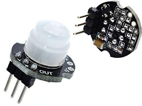 Movimiento PIR Mini Sensor del Detector CANADUINO Interruptor Compatible con Arduino etc