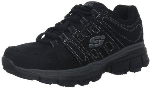 Skechers Hombres Bravos Black Charcoal