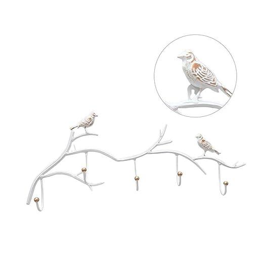 Perchero de Pared Colgador de pájaros en la Rama de un árbol ...