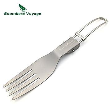 CATOP titanio cubiertos Extra fuerte Ultra ligero (Ti), saludable y ecológica cutlerys,