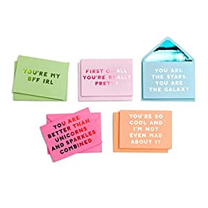 Ban.do 63890 Compliment Foldover Greeting Card Set