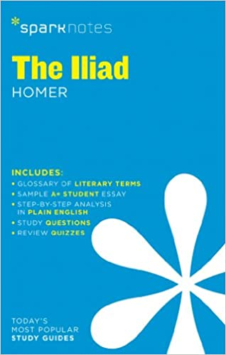Amazoncom The Iliad Sparknotes Literature Guide Sparknotes  Amazoncom The Iliad Sparknotes Literature Guide Sparknotes Literature  Guide Series  Sparknotes Homer Books Essay About Learning English also Informative Synthesis Essay  Essay Writing High School