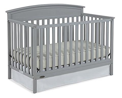 Graco Benton Convertible Crib, Pebble Gray (Graco Crib Benton)