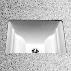 Toto LT626G#01 Aimes 17-Inch by 15-Inch Undercounter Lavatory with SanaGloss, Cotton ()