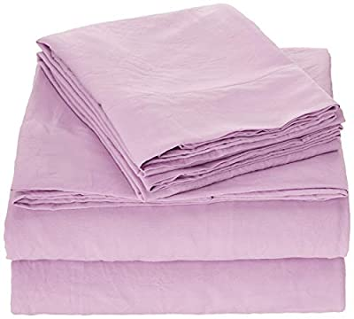 HOMEIDEAS 4 Piece Bed Sheet Set (Full,Burgudy) Super Soft Microfiber Bedding,16-Inch Deep Pockets,Hypoallergenic & Fade Resistant