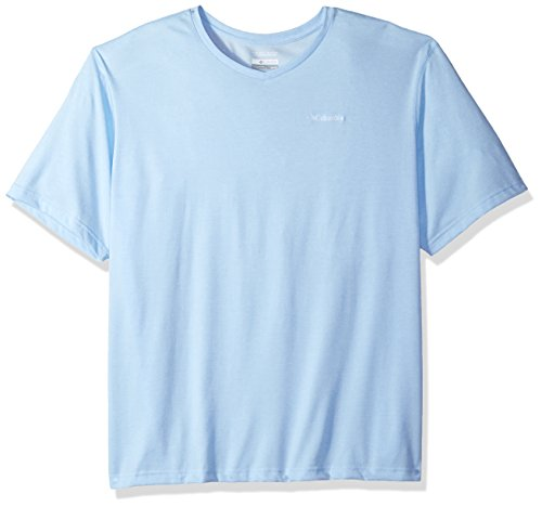 - Columbia Men's Thistletown Park Big and Tall V-Neck, Air Heather, 2X