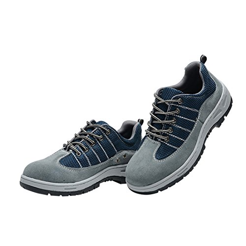 Ventilate Comp Shoes Men's Shoes Steel Work Blue Shoes Optimal Safety Toe F7zdqXX