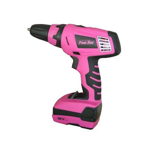 The Original Pink Box PB18VLI 18-volt Lithium Ion Cordless Drill Review