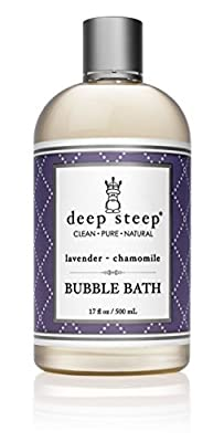 Deep Steep Lavender Chamomile Bubble Bath - 17oz Bottle