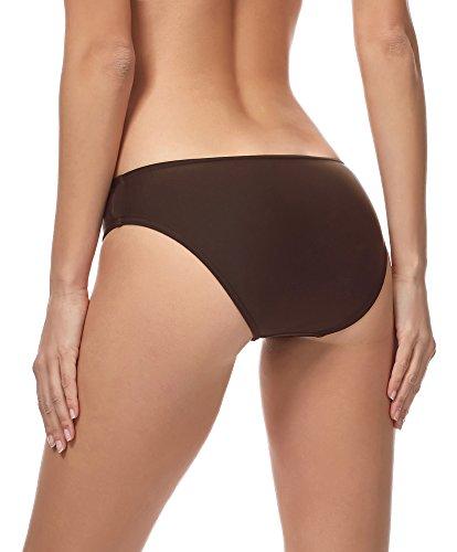 Marrone Donna 8157 bikini MSVR1 Style Slip Merry qAv1Rv