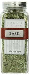 The Spice Hunter Fresh at Hand Basil, 0.4-Ounce Jar