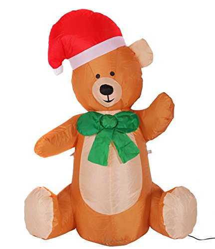 Lighted Christmas Bear Outdoor