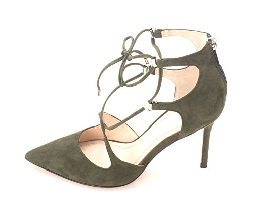7 Strap Suede Size Classic 5 Ankle Toni Fisher Marc Green Closed Toe Womens wFOxq4nT1P