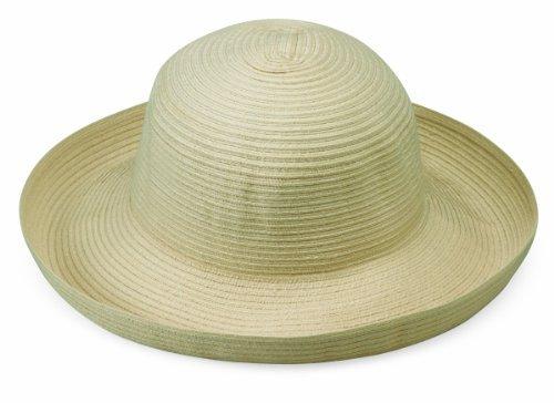 Wallaroo Hat Company Women's Sydney Sun Hat - Lightweight, Packable, Modern Style, Designed in Australia, Ivory