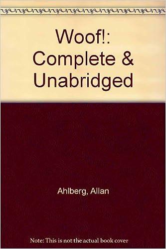 Amazon Woof 9780754051268 Allan Ahlberg Books