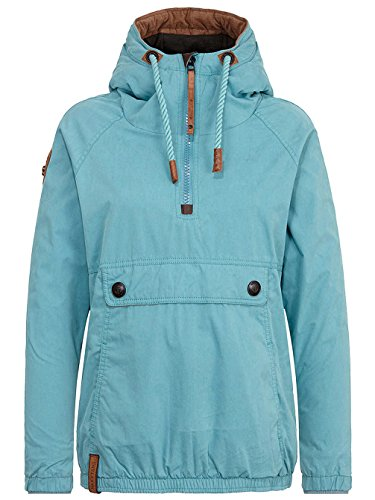 Turquoise Dirty Giacca Donna Naketano Basic wUI1Zq
