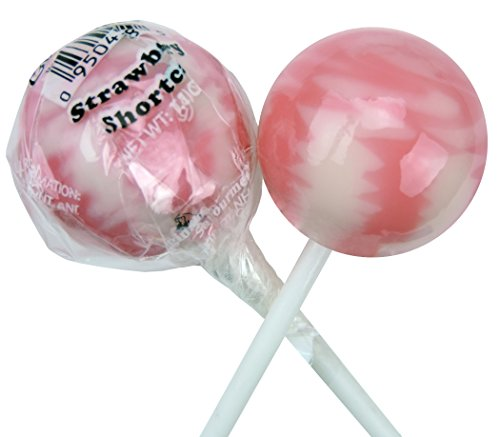 Original Gourmet Lollipops, Strawberry Shortcake (Pack of 30)
