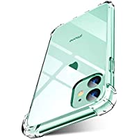 iPhone 11 Case Anti-Scratch Shock Proof Bumper Transparent Silicone Reinforced Edges Clear protection Cover