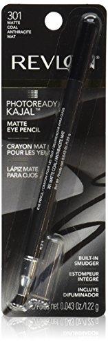 Revlon PhotoReady Kajal Eye Pencil, Matte Coal ()