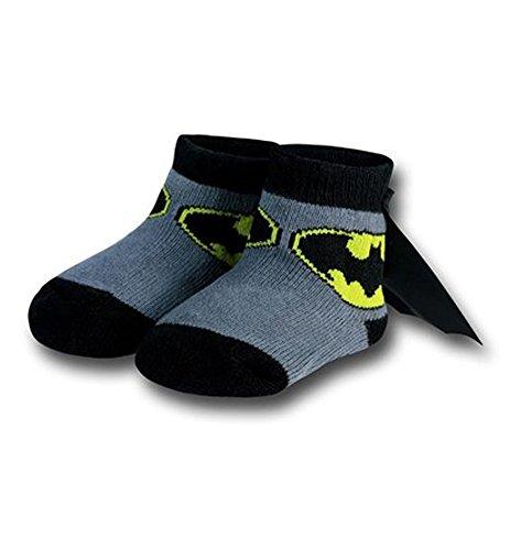 (Batman Infant Socks with Cape,)