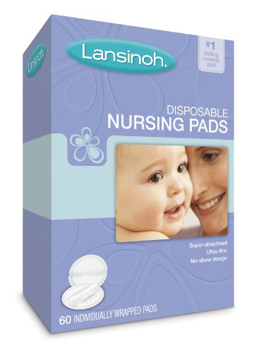Lansinoh Coussinets d'allaitement jetables 20265, 60-Count Boxes (Pack de 4)
