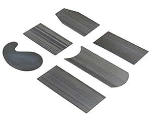 DS-Space Cabinet Scraper Set, 6 Pieces Woodworking Scrapers