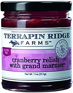product image for Cranberry Relish with Grand Marnier (TM) by Terrapin Ridge Farms – One 11 oz Jar
