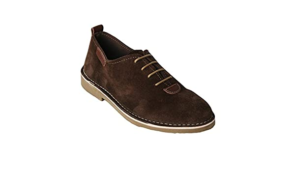 K533 - Zapato piel serraje camel (44) KdQMI