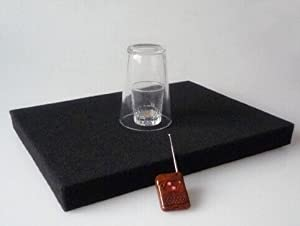 Gowe Coin in Glass and Glass Breaking Tray Combination Trick, Magic Tricks, Mentalism