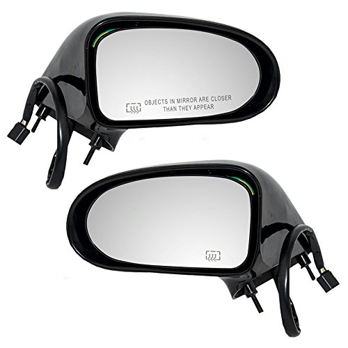 Oldsmobile Mirror 88 Power - Pair Set Power Side View Mirrors Heated Replacement for Buick LeSabre Oldsmobile Eighty-Eight 98 20748650 25659061 AutoAndArt
