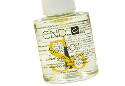 Creative Nail Design Solaroil Solar Oil Nail and Cuticle Care Naturally light oils keep skin soft and supple. Jojoba Oil draws Rice Bran Oil and Sweet Almond Oil into natural nails : 15ml / 0.5fl.oz