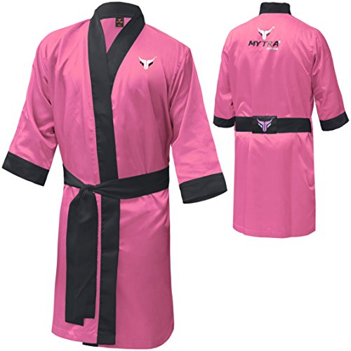 Mytra Fusion Boxing Gown boxing full length gown boxing robe satin boxing robe boxing dressing gown