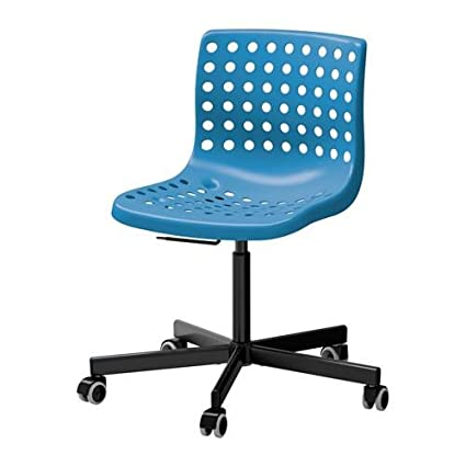 IKEA Swivel Chair Blue Black