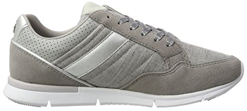 Tommy Hilfiger S1285kye14c2, Zapatillas para Mujer Gris (Light Grey 007)