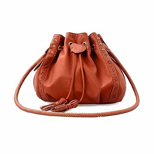 Women Large Shoulder Bag Handbag Cross-body Bags Cheap Colors for Girl by TOPUNDER -