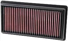 K&N 33-3006 Filtro de Aire Coche, Lavable y Reutilizable