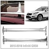 Aluminum Luggage Racks Roof Racks Rail Cross Bar Crossbar Fits 2015-2018 Infinity QX50