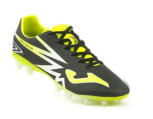 Propulsion 3.0 601 FG Football Boots - Black/Yellow - size 8.5