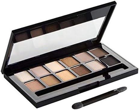 Maybelline New York, Paleta de Sombras de Ojos, The Nudes, 12 Colores