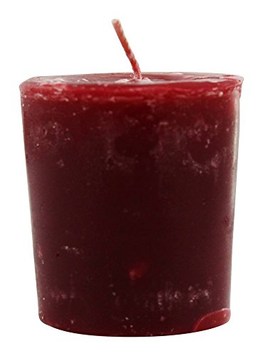 (Aroma Naturals - Peace Ruby Holiday Naturally Blended Votive Eco-Candle Orange, Clove and Cinnamon)