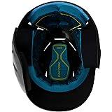 EASTON PRO X Baseball Batting Helmet with JAW GUARD   Right Handed Batter   Senior   Matte Black   2020   Multi-Density Impact Absorption Foam   High Impact Resistant ABS Shell   BioDRI Liner