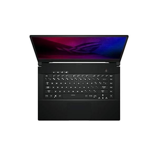 "ASUS ROG Zephyrus M15 (2020), 15.6"" 4K UHD, Intel Core i7-10750H 10th Gen, RTX2060 GDDR6 6GB Graphics, Gaming Laptop (16GB RAM/1TB NVMe SSD/Windows 10/Prism Black/1.9 Kg), GU502LV-HC018T -  - Laptops4Review"