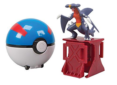Pokémon Super Catch N Return Garchomp + Great Ball