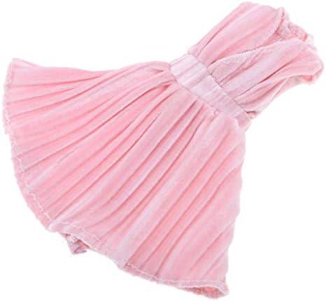 人形アクセサリー ドール服 1/6スケール 人形ドール用 V襟ドレス パーティードレス 人形服