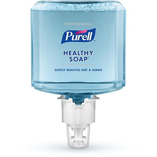(PURELL ES4 Professional HEALTHY SOAP Clean and Fresh Scent Lotion Handwash Refill, 1200 mL Soap Refill for PURELL ES4 Push-Style Dispenser (Pack of 2) - 5095-02)