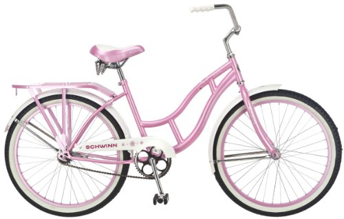 Schwinn Destiny 24-Inch Cruiser Bicycle,Pink