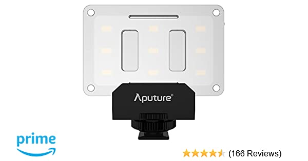 Amazon Com Aputure Al M Amaran Led Mini Light On Camera Video Light Black Camera Photo
