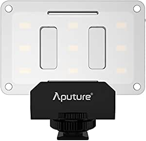 Aputure AL-M9 Mini LED Light for Video Filming and Macro Photography - Black